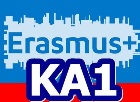 Cosa sono i progetti di mobilità per l'apprendimento KA1 di Erasmus+?