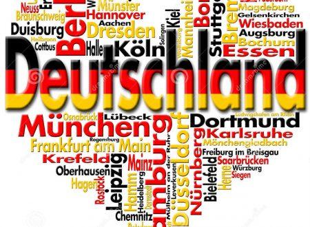 """Programma """"Deutschland Plus"""" – viaggio nella Repubblica Federale di Germania – selezione Basilicata 2017"""
