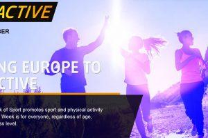 #Beactive: la Commissione lancia la settimana europea dello Sport