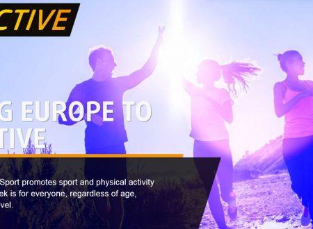 La Commissione lancia la settimana europea dello Sport #Beactive