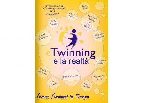 """Il tema """"formarsi in Europa"""" nell'ebook eTwinning e la Realtà"""