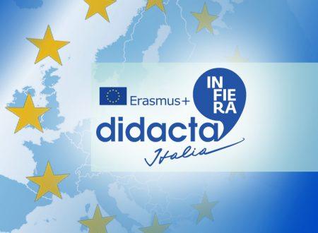 Erasmus+ per la scuola a Fiera Didacta Italia