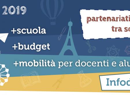 Info Day ErasmusPlus – 15 gennaio a Potenza e 16 gennaio a Matera – ore 15.30-18.30