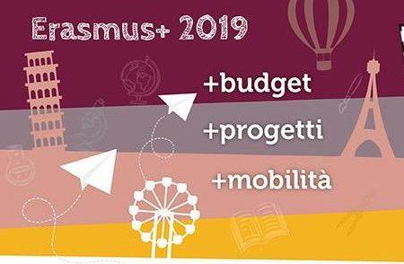 Novità Erasmus Plus 2019: webform per tutte le azioni e consorzi coordinati da scuola capofila