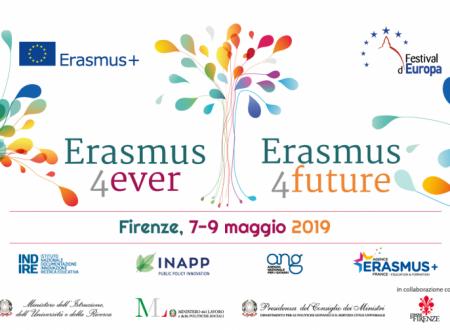"Conferenza internazionale Erasmus ""United in diversity"" – Firenze, 9 maggio 2019"