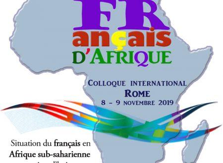 Congresso Internazionale Federazione delle Alliances françaises d'Italia – Roma, 8-9 novembre 2019