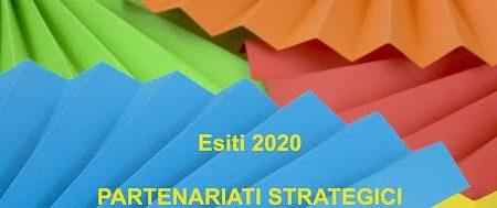 Esiti candidature 2020 – PARTENARIATI STRATEGICI KA229 e KA201