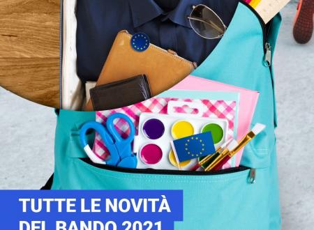 Bando Erasmus+ 2021 – Le novità per la SCUOLA